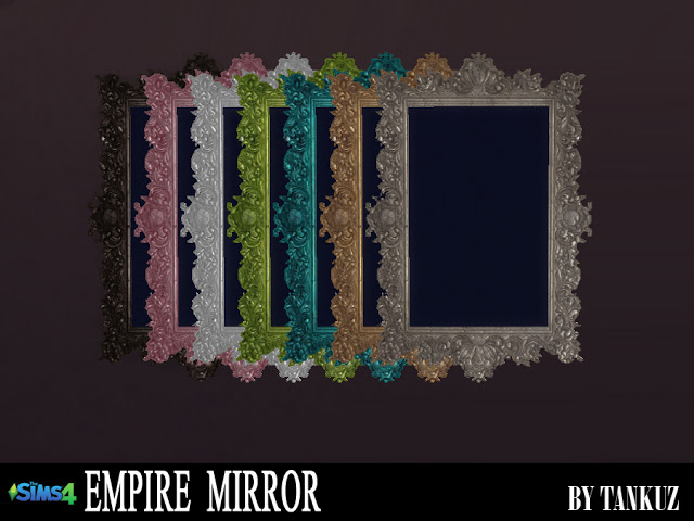 Empire Mirror at Tankuz Sims4 image 945 Sims 4 Updates
