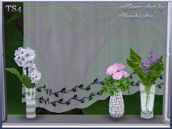 Flower shop by Maruska Geo at TSR image 95 Sims 4 Updates
