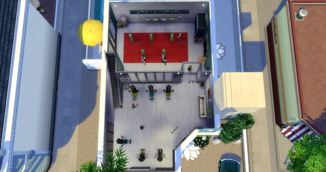 The Flash gym at Studio Sims Creation image 9514 670x355 Sims 4 Updates
