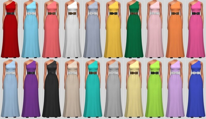 Sims 4 Alexandra Dress at Veranka