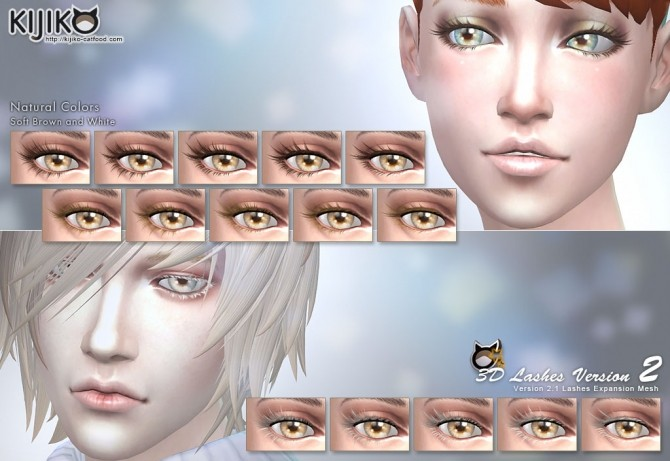 3d Lashes Version2 For Skin Detail Experimental At