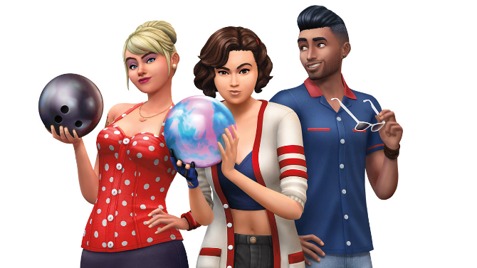 The Sims 4 Expansion & Stuff Packs list image The Sims 4 Bowling Night Stuff big Sims 4 Updates