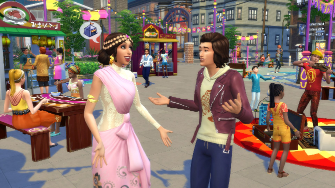 The Sims 4 Expansion & Stuff Packs list image The Sims 4 City Living big Sims 4 Updates