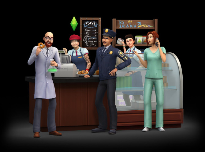 The Sims 4 Expansion & Stuff Packs list image The Sims 4 Get to Work Expansion Pack 670x496 Sims 4 Updates