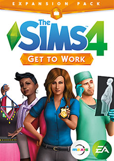 The Sims 4 Expansion & Stuff Packs list image The Sims 4 Get to Work Expansion Pack small Sims 4 Updates