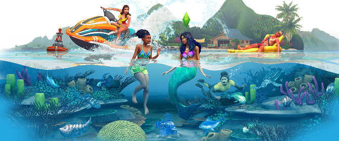 The Sims 4 Expansion & Stuff Packs list image The Sims 4 Island Living big 670x279 Sims 4 Updates