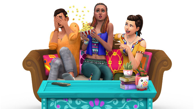 The Sims 4 Expansion & Stuff Packs list image The Sims 4 Movie Hangout Stuff 670x377 Sims 4 Updates