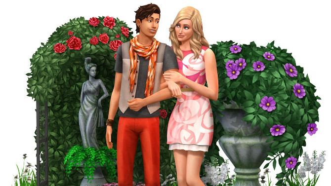 The Sims 4 Expansion & Stuff Packs list image The Sims 4 Romantic Garden Stuff 670x377 Sims 4 Updates