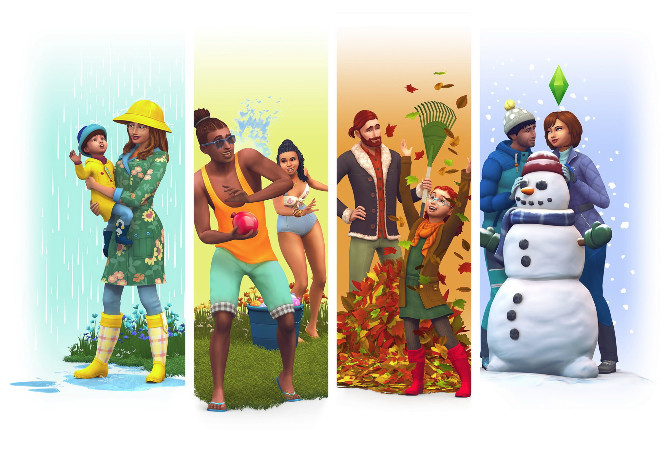 The Sims 4 Expansion & Stuff Packs list image The Sims 4 Seasons big 670x453 Sims 4 Updates