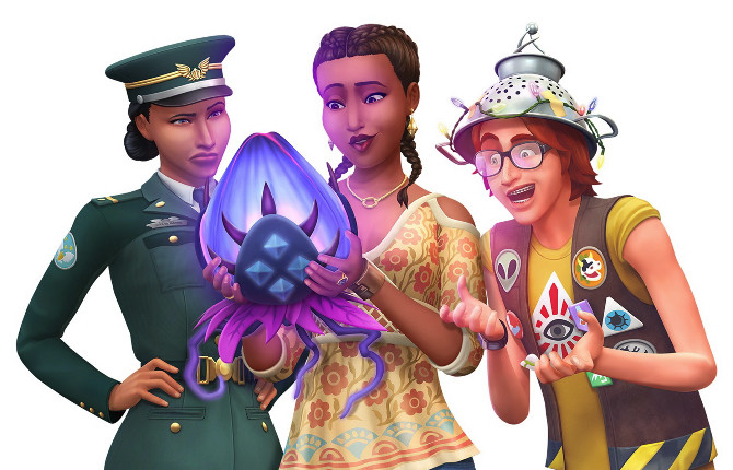 The Sims 4 Expansion & Stuff Packs list image strangerville1 670x430 Sims 4 Updates