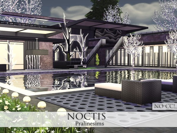 Noctis house by Pralinesims at TSR image 1019 Sims 4 Updates