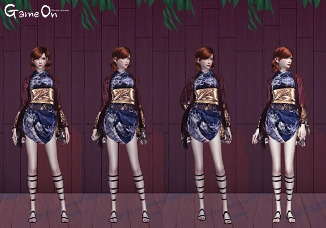 Sims 4 GAME ON POSES SET at Flower Chamber