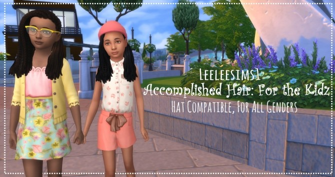 Sims 4 Accomplished Hair For the Kidz by leeleesims1 at SimsWorkshop