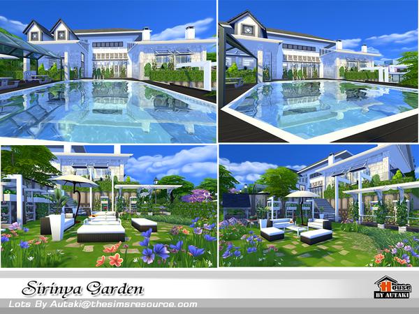 Sims 4 Sirinya Garden by autaki at TSR