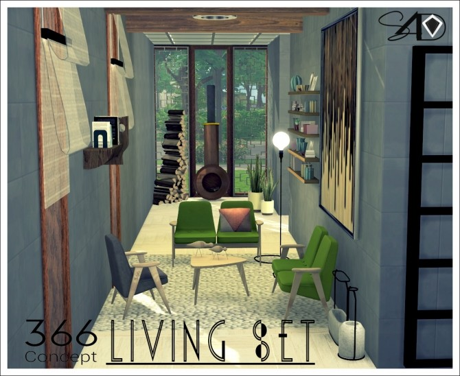366 Concept Living Set Part I (new meshes) at Daer0n – Sims 4 Designs image 11112 670x548 Sims 4 Updates