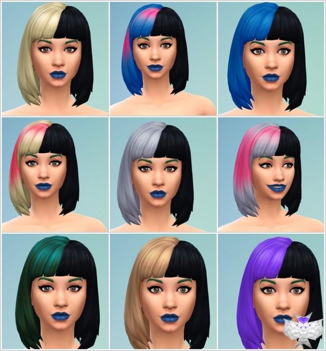 Sims 4 Martinez Hair at David Sims