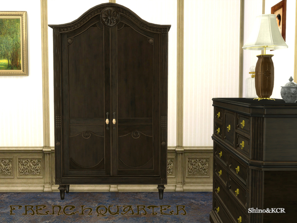 French Quarter Bedroom by ShinoKCR at TSR image 1126 Sims 4 Updates