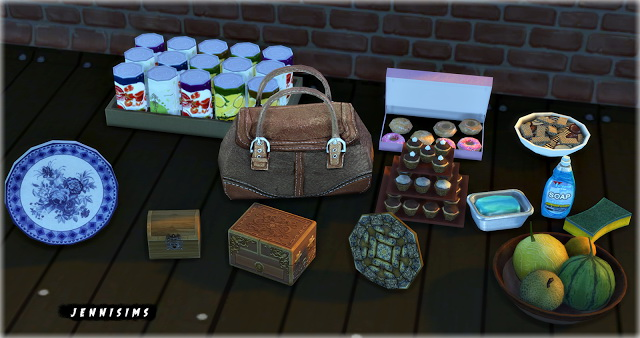 Sims 4 Deco Clutter Vol19 (8 items) at Jenni Sims