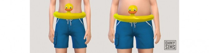 Sims 4 Ducky Swim Ring at Oh My Sims 4