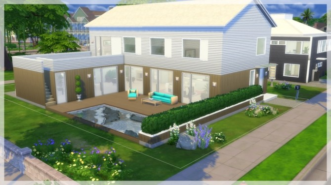 Princip house by Indra at SimsWorkshop image 1172 670x376 Sims 4 Updates