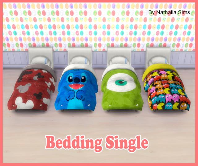 Sims 4 Bedding Single Conversion 2t4 at Nathalia Sims