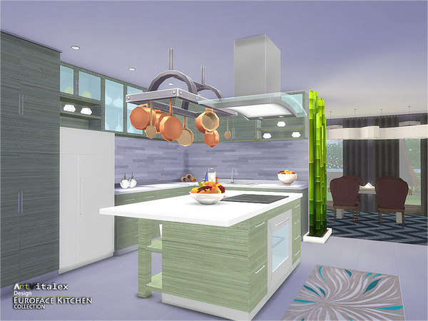 Euroface Kitchen by ArtVitalex at TSR image 12100 Sims 4 Updates
