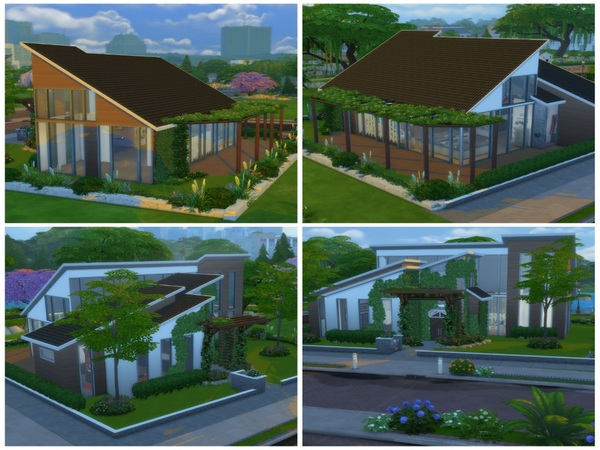 Sims 4 Modern Living Studio Apartment by Arissaria at TSR