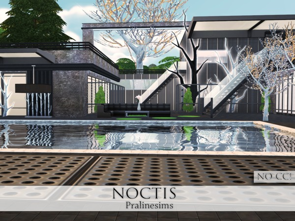 Noctis house by Pralinesims at TSR image 1219 Sims 4 Updates