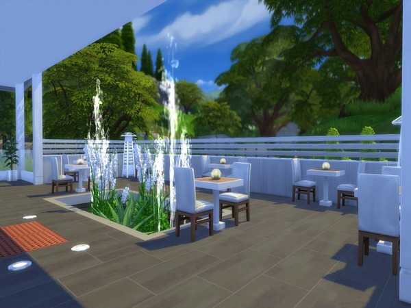 Sims 4 Enora Restaurant by Suzz86 at TSR