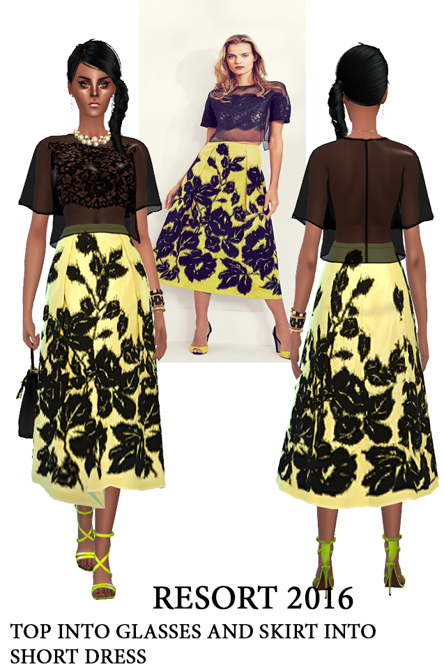 J.W. and C.H. dresses (pay) at Rhowc image 1235 Sims 4 Updates