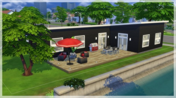 Opalen house by Indra at SimsWorkshop image 1236 670x376 Sims 4 Updates