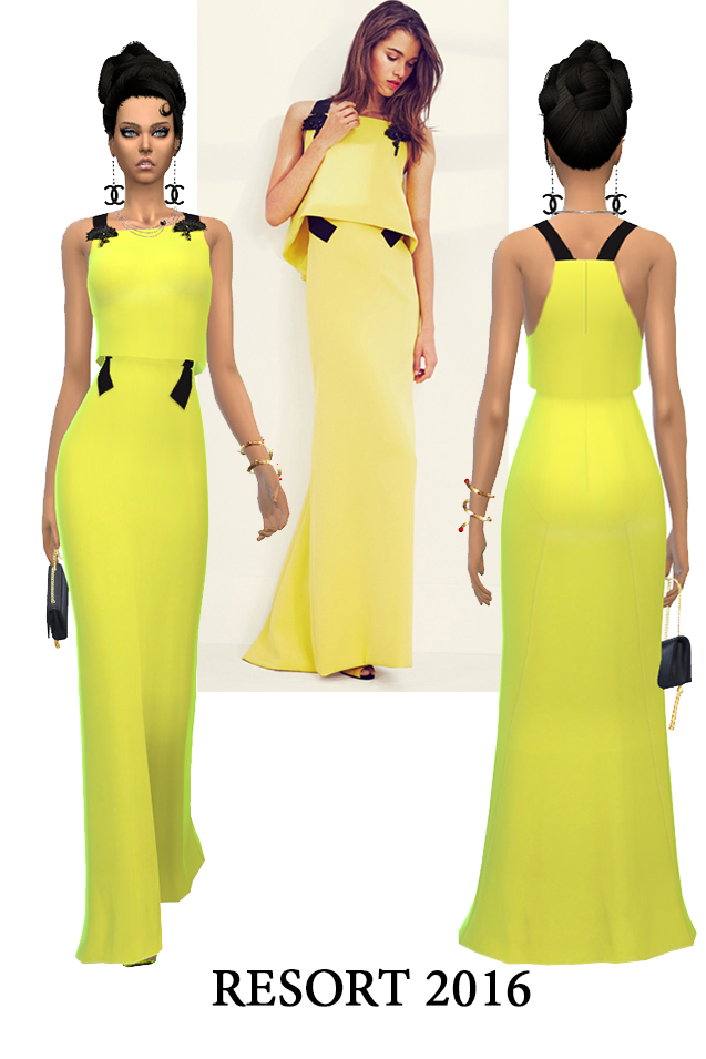 J.W. and C.H. dresses (pay) at Rhowc image 1244 Sims 4 Updates