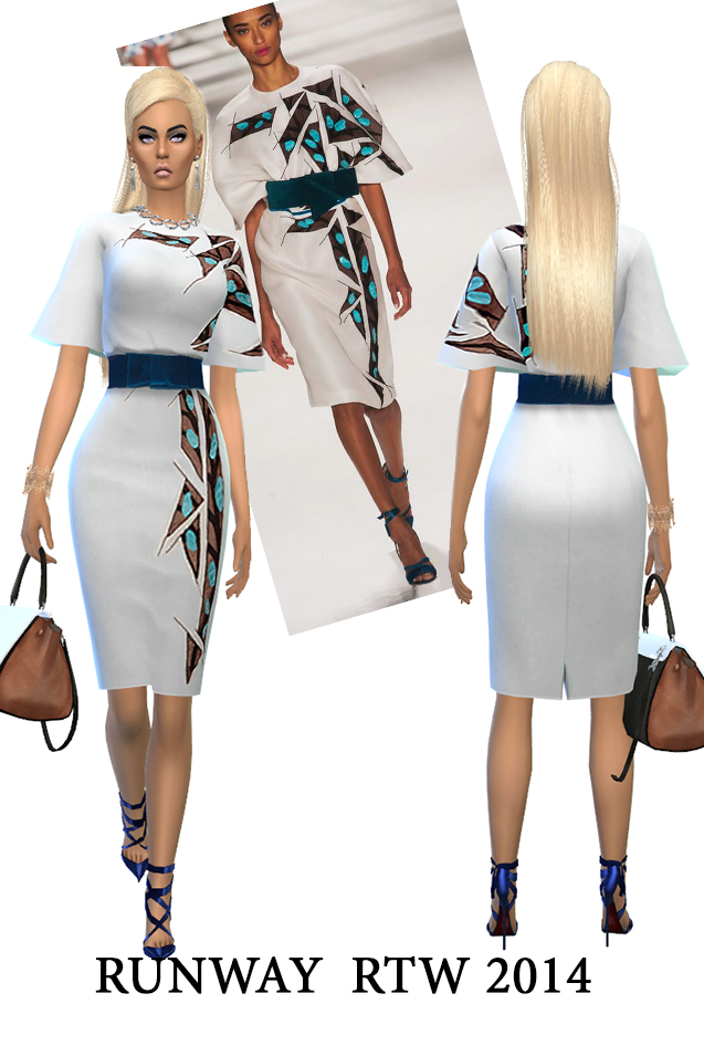 J.W. and C.H. dresses (pay) at Rhowc image 1257 Sims 4 Updates