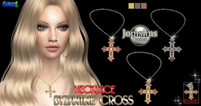 Byzantine Cross At Jomsims Creations 187 Sims 4 Updates