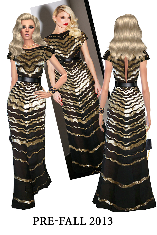 J.W. and C.H. dresses (pay) at Rhowc image 1286 Sims 4 Updates
