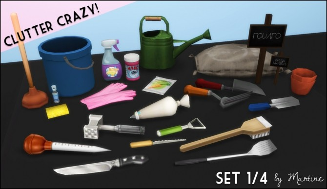 Clutter Crazy Part 1 Garden, Kitchen and Cleaning at Martine's Simblr image 1304 670x388 Sims 4 Updates