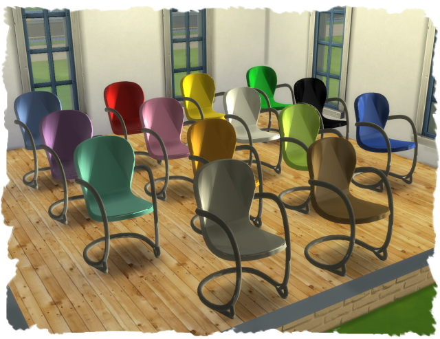 MESH dining round by Chalipo at All 4 Sims image 1314 Sims 4 Updates