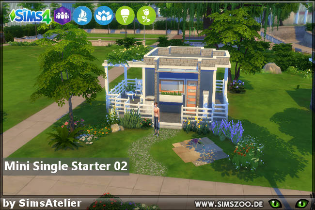 Sims 4 Mini Single Starter 02 by SimsAtelier at Blacky's Sims Zoo