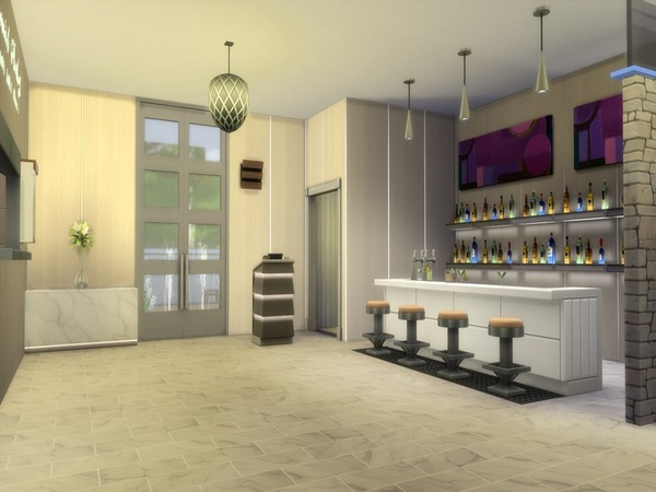 Enora Restaurant by Suzz86 at TSR image 1330 Sims 4 Updates