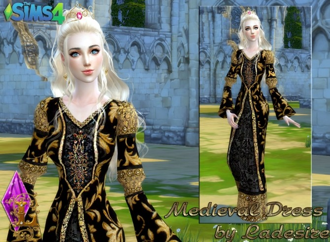 Medieval Dress at Ladesire image 1337 670x492 Sims 4 Updates