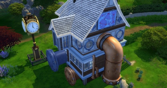 Steampunk House At Studio Sims Creation 187 Sims 4 Updates