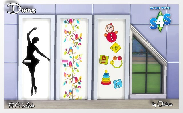 Doors by Oldbox at All 4 Sims image 1343 Sims 4 Updates