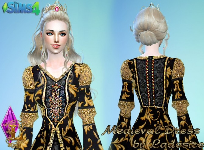 Medieval Dress at Ladesire image 1347 670x492 Sims 4 Updates