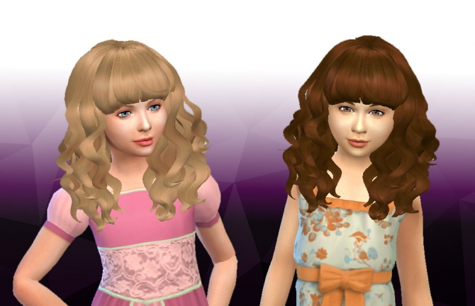 Peggy 885 Child Hair Conversion At My Stuff 187 Sims 4 Updates