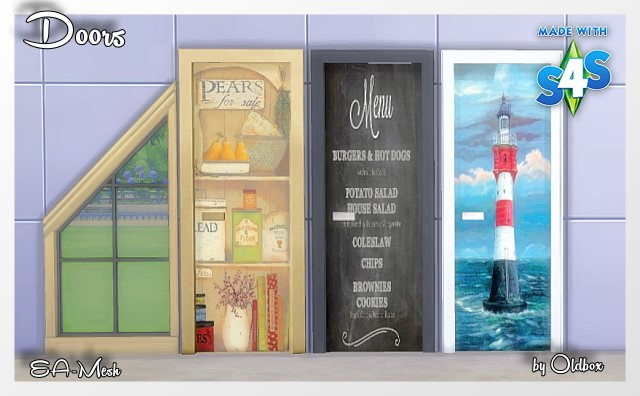 Doors by Oldbox at All 4 Sims image 1353 Sims 4 Updates