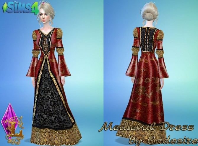 Medieval Dress at Ladesire image 1357 670x492 Sims 4 Updates