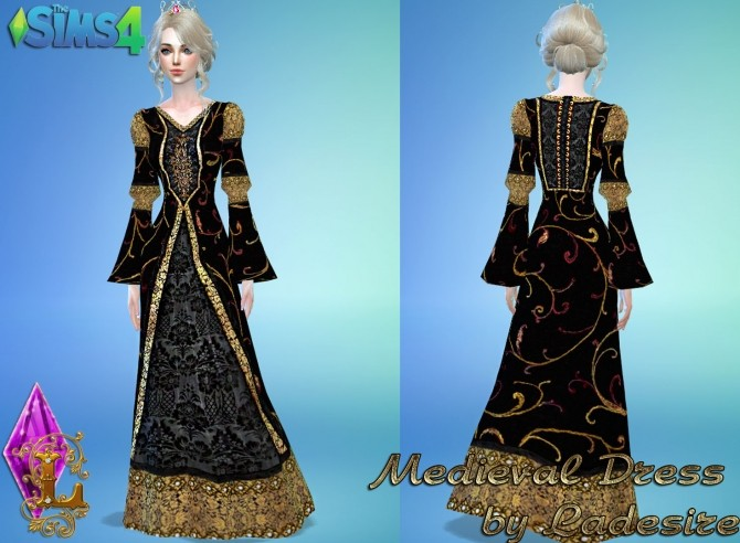 Medieval Dress at Ladesire image 1367 670x492 Sims 4 Updates