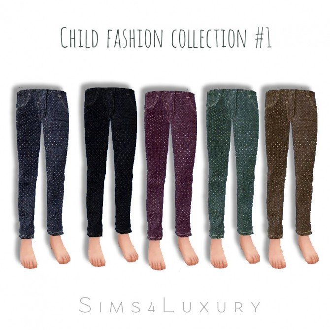 Sims 4 Child collection #1 at Sims4 Luxury