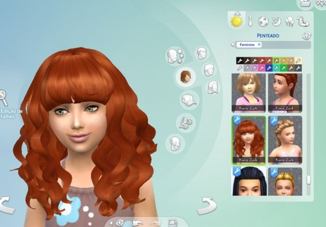 Sims 4 Peggy#885 Child Hair Conversion at My Stuff