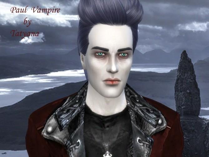 Sims 4 Paul Vampire at Tatyana Name